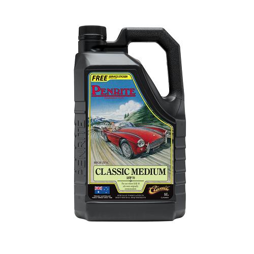 Penrite Engine Oil - Classic Medium (5 Litres)