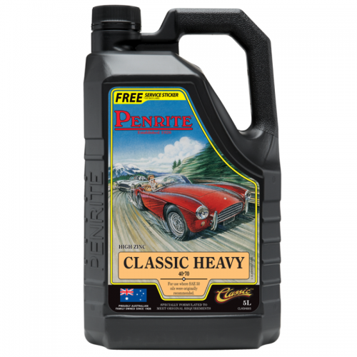 Penrite Engine Oil - Classic Heavy (5 Litres) 1950 to 1980