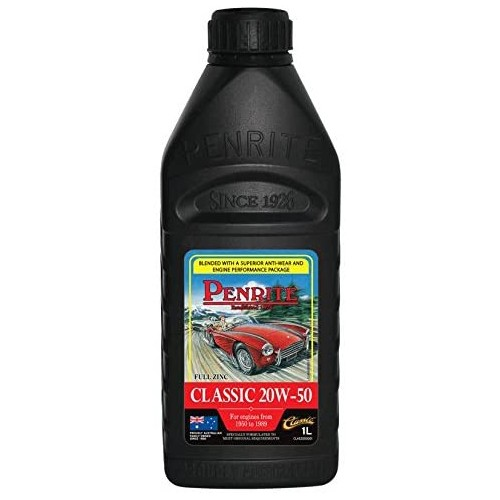 Penrite Engine Oil - Classic 20W-50 (1 litre)