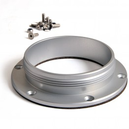 Bolt On Alloy 3.5 in Flange for Fuel Filler Cap