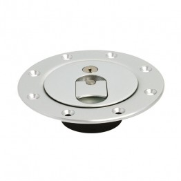 Aero Flush Fitting Fuel Cap - 3 in