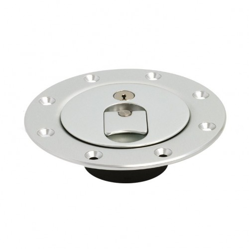 Aero Flush Fitting Fuel Cap - 3 in - Locking image #1