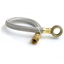 Flexible Fuel Hose & Banjo 14 in (356mm)
