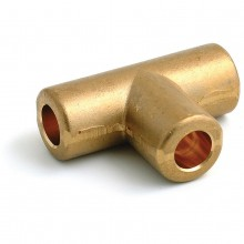 T Piece Solder type for 5/16 in Copper Pipe
