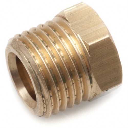 1/4 in Copper Pipe Nut for Solderless Fittings image #1