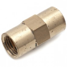 1/4 in Straight Connector (Solderless Fitting)