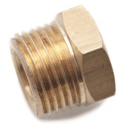 5/16 in Copper Pipe Nut for Solderless Fittings