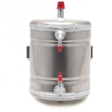 Round Oil Catch Tank - 2 litres