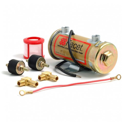 Facet Points Type Competition Fuel Pump - Red Top image #1