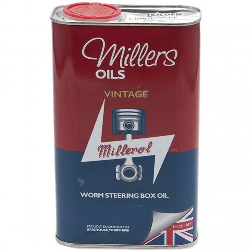 Millers Vintage Worm Steering Box Oil - 1 litre image #1