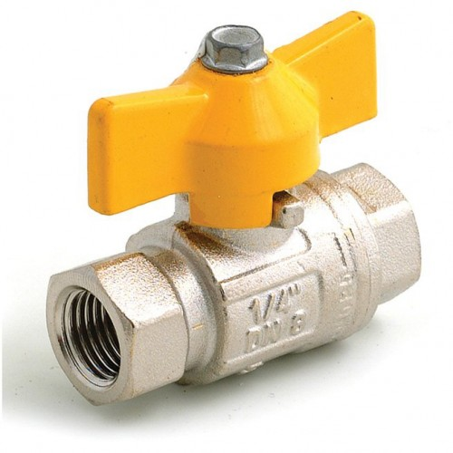 Fuel Tap with Yellow Knob (Competition Type) image #1
