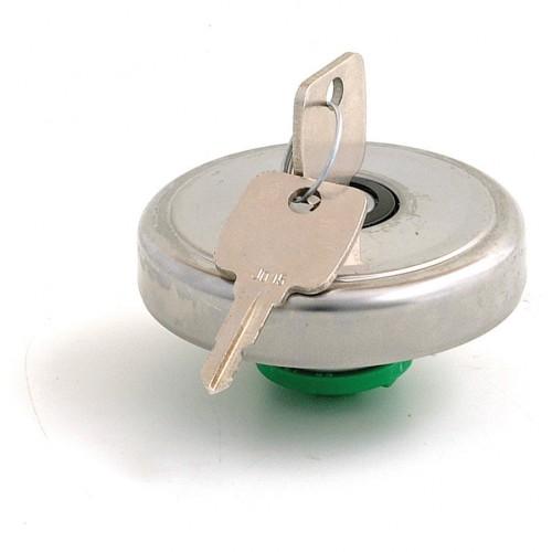 Stainless Steel Locking Fuel Filler Cap
