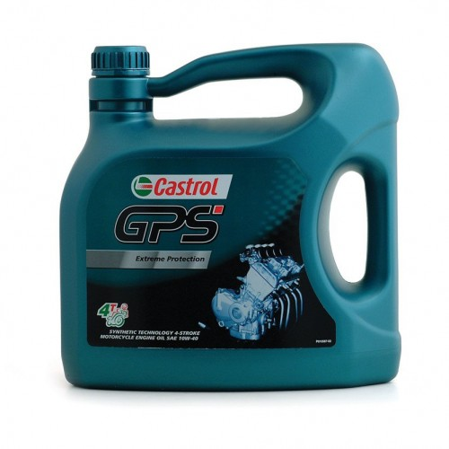 GPS Semi-Synthetic Engine Oil for Motorcycles image #1