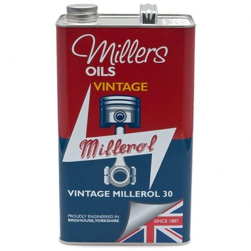 Millers Engine Oil - Vintage Millerol 30 - 5 litres image #1