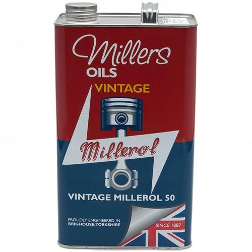 Millers Engine Oil - Vintage Millerol 50 - 5 litres image #1