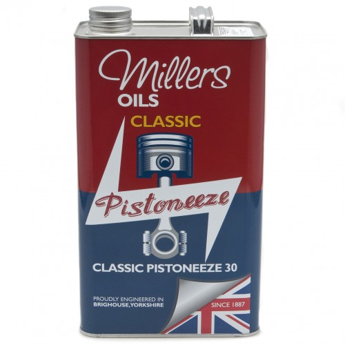 Millers Engine Oil - Classic Pistoneeze 30 - 5 litres image #1