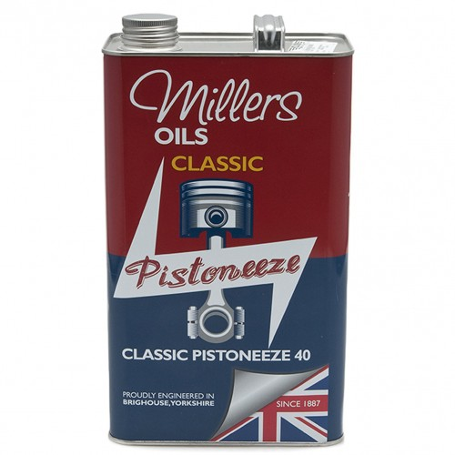 Millers Engine Oil - Classic Pistoneeze 40 - 5 litres image #1