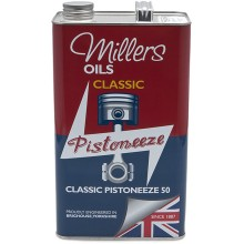 Millers Engine Oil - Classic Pistoneeze 50 - 5 litres