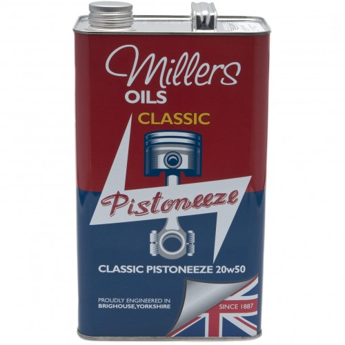 Millers Engine Oil - Classic Pistoneeze 20w50 - 5 litres image #1