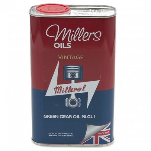 Millers Gear Oil Vintage Green 90 GL1 - 1 litre image #1