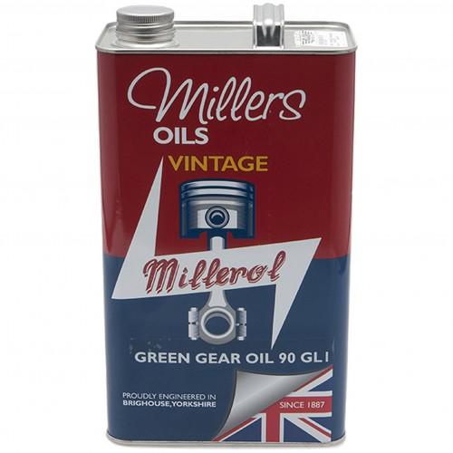 Millers Gear Oil Vintage Green 90 GL1 - 5 litres image #1