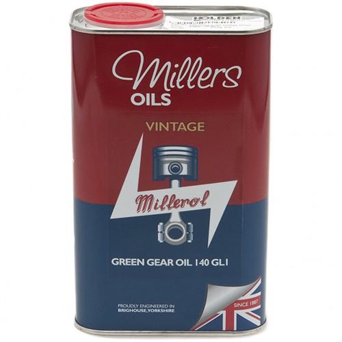 Millers Gear Oil Vintage Green 140 GL1 - 1 litre image #1