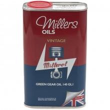 Millers Gear Oil Vintage Green 140 GL1 - 1 litre