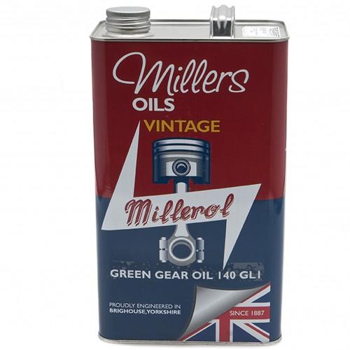 Millers Gear Oil Vintage Green 140 GL1 - 5 litres image #1