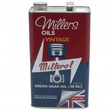 Millers Gear Oil Vintage Green 140 GL1 - 5 litres
