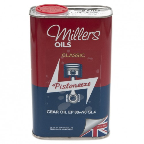 Millers Gear Oil EP80w90 GL4 - 1 litre image #1