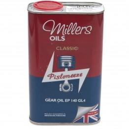 Millers Gear Oil EP140 GL4 - 1 litre