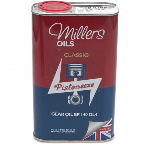 Millers Gear Oil EP140 GL4 - 1 litre image #1