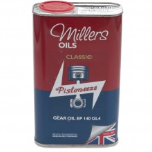 Millers Gear Oil EP140 GL4 - 1 litre
