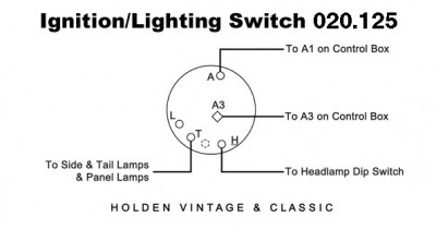 Ignition/Lighting Switch
