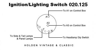 Ignition/Lighting Switch