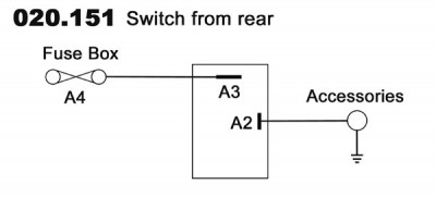 Off-on (Professional) Sealed Toggle Switch - 2 Terminals