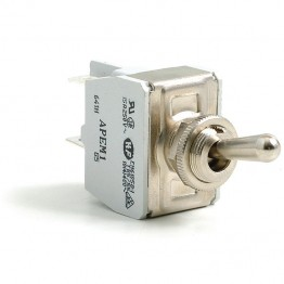 Toggle Switch - Off-on with Standard Lever - 4 Terminals