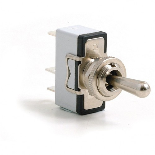 Toggle Switch - On-off-on with Standard Lever - 3 Terminals image #1