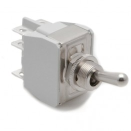 Toggle Switch - On-on with Standard Lever - 6 Terminals