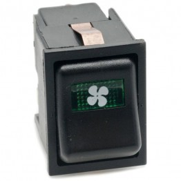 Heater Fan 2-Speed Rocker Switch Off-on-on