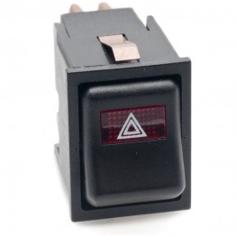 Hazard Warning Rocker Switch Off-on