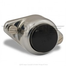 Push Button Switch Chrome Surface Mounting