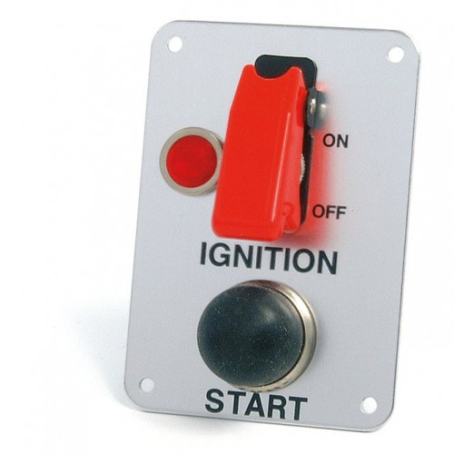 Panel mounted Ignition Switch & Starter Button image #1