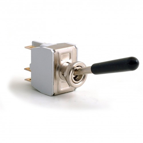 Toggle Switch - On-Off-On with Long Lever - 6 Terminals image #1