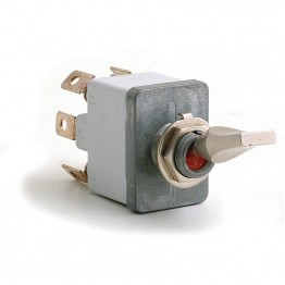 Off-on-on (Professional) Sealed Toggle Switch - 6 Terminals