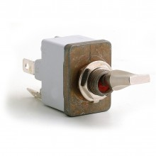 Off-on (Professional) Sealed Toggle Switch - 4 Terminals