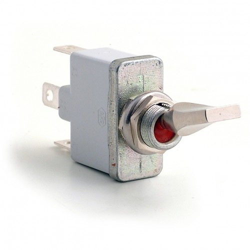 On-off-on (Professional) Sealed Toggle Switch - 3 Terminals image #1