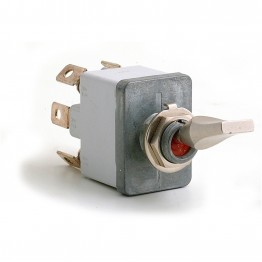 On-off-on (Professional) Sealed Toggle Switch - 6 Terminals