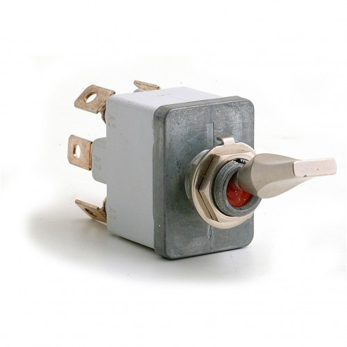 On-off-on (Professional) Sealed Toggle Switch - 6 Terminals image #1