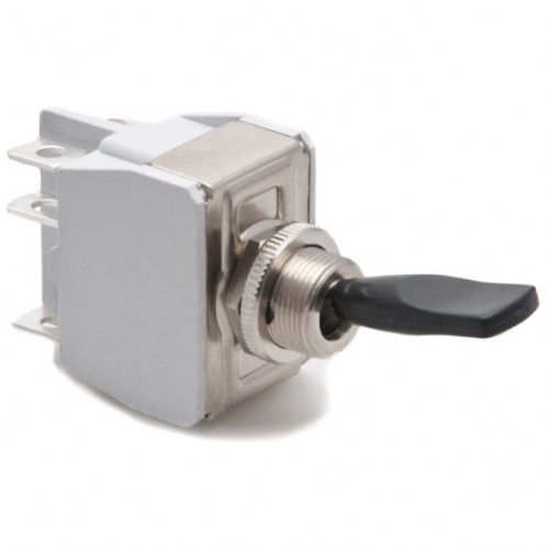Toggle Switch - Off-on-sprung on - Lucas Lever image #1